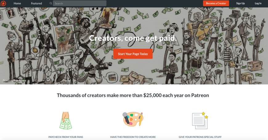 How much is Patreon? And can it help you make money from